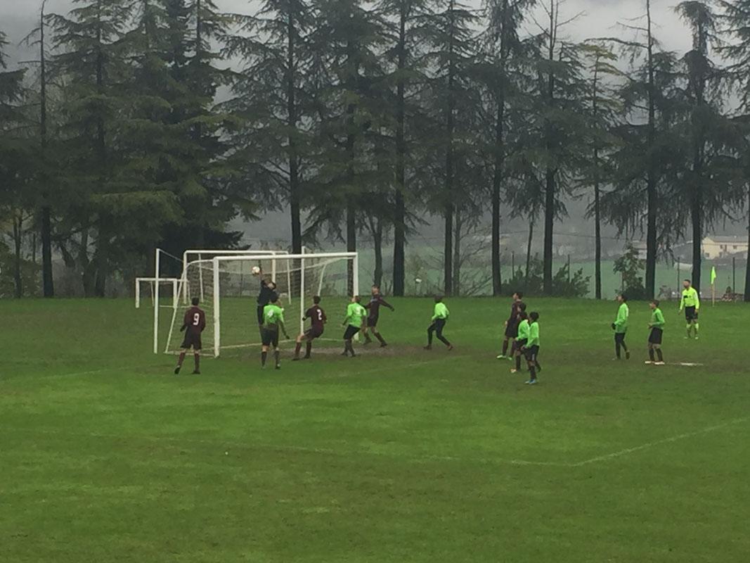 54' 5-0 Torre: Dallagata va a segno direttamente da calcio d'angolo e sigla così la tripletta personale.