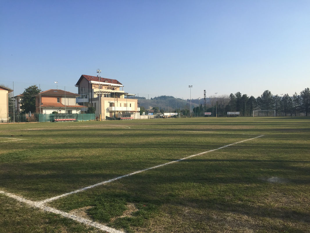 Il campo di Villarco ospiterà gli ultimi 30 minuti della partita della prima squadra del TorreSanVittore.