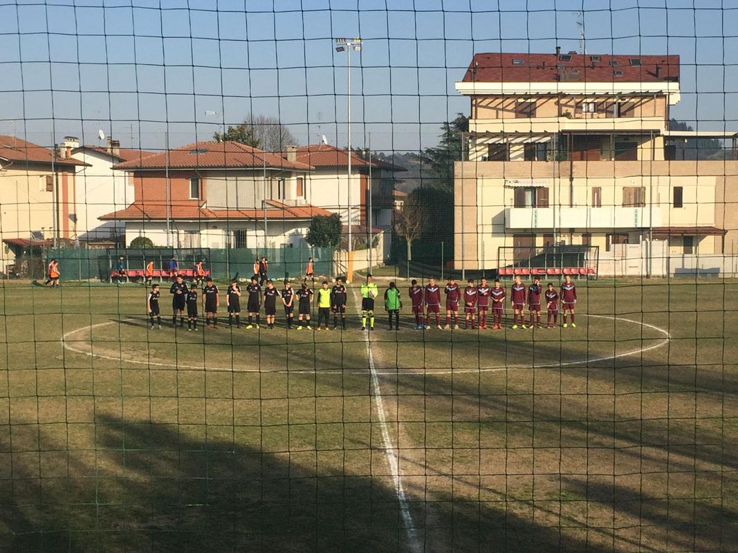 I Giovanissimi 2005/06 a Villarco con la Sammartinese.