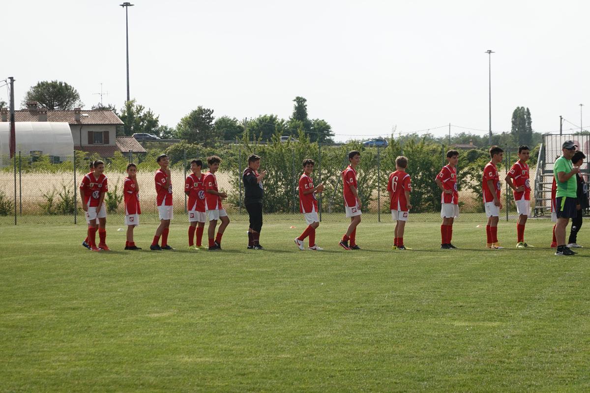 I 2008 prima dell'incontro con la Savignanese.
